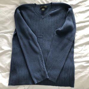 Men's  medium  blue sweater